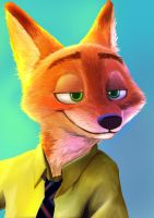 Nick Wilde by alysantwanet