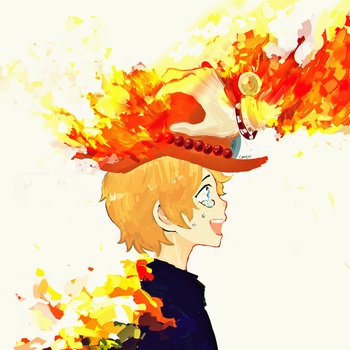 Stay strong Sabo! by Dakumes