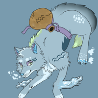 Adoptable Zodiac Wolves: Aquarius *CLOSED!* by moothequackingcow