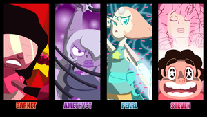 We are the Crystal Gems by ManDemolition