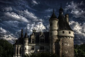 Chateau de Chenonceau 2 HDR by thren0dy