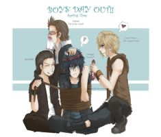FFVXIII Boys' Day Out by weird2106