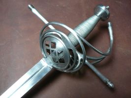 Shell hilt side sword - 3 by Danelli-Armouries