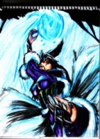 Midnight Ahri League of Legends Drawn by GuillermoAntil