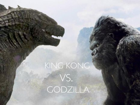 King Kong vs. Godzilla by Kongzilla2010