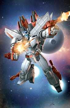 Jetfire by Dan-the-artguy