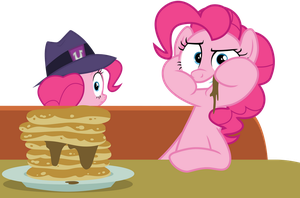 At The Diner With Pinkie Pie by TomFraggle