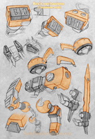Rex 's mechanisms (Omniverse style) by SunyFan
