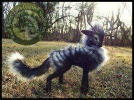 SOLD- Handmade Poseable Stag of Storms! by Wood-Splitter-Lee