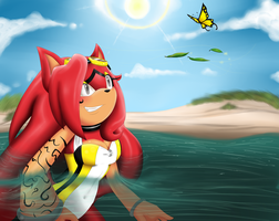 Ocean Breeze_Contest Entry by Ila-Mae