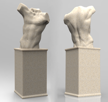 Torso Sculpt by NightmareGK13