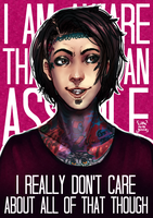 Ronnie Radke by Little-Miss-Boxie
