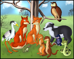 The Animals of Farthing Wood by Velvet-Loz