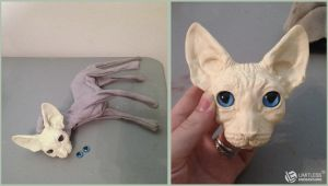 Commissioned Sphynx WIP by LimitlessEndeavours