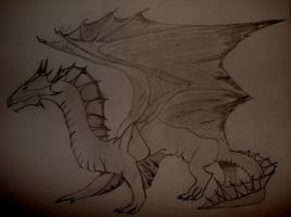 dragon by Orfevs