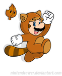 Tanooki suits me by Nintendrawer