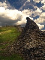 Castleton Cliffs by Sangimber