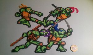 Teenage mutant ninja turtles by Gandull