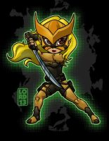 Young Justice Invasion- Tigress by lordmesa