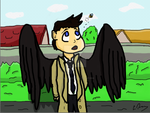 Castiel by Marvelmadness0