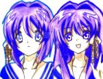 Kyou and Ryou Fujibayashi by 9Botan99