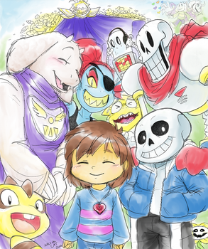 Yes, Undertale! by KACItheCAT