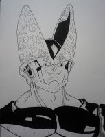 Perfect Cell, from Dragon Ball! by delPuertoSisters
