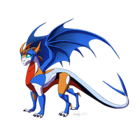 Dragonformers CO: Skyrunner by JazzTheTiger