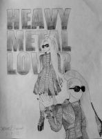 Heavy Metal Lover by brettrounds