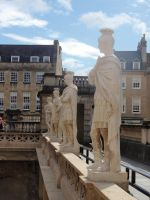 Guardians of the Roman Bath by golden-3point14