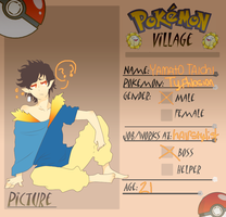 Pokemon Village App by bazingpurr