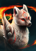 Amaterasu by Foxeaf