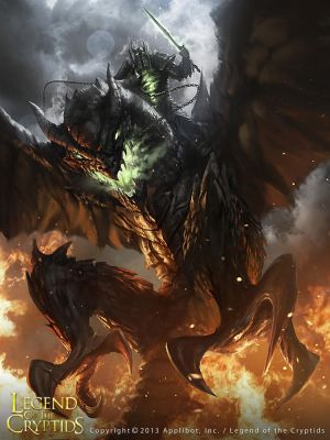 The Dark Knight Dragon advanced by 88grzes