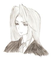 Sephiroth - 12 years old. by guineapiggin