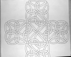Big Celtic Knot. by RebelInABox
