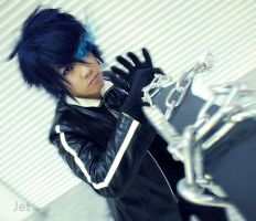 Kaito - Black Rock Shooter by jettyguy