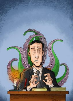 Lovecraft by cool-slayer