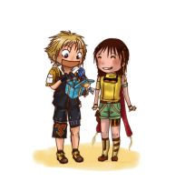 for you, tidus by red3erry