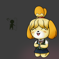 Isabelle likes dem pon3s by GrapeTonic