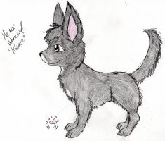 Mini werewolf by NiehHuskey