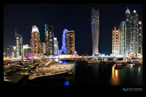 Dubai marina full shot by vinayan