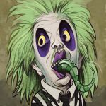 Daily Sketches BeetleJuice by fedde