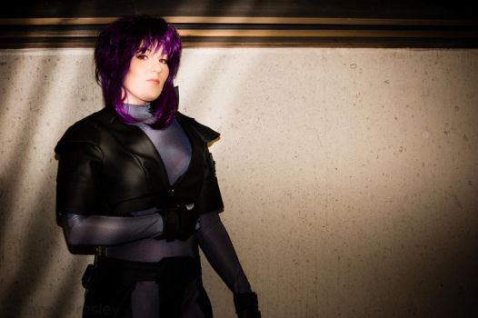 Motoko from Ghost in the Shell by The-Prez