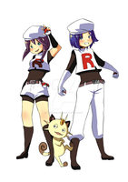 The new Team Rocket by Berylunee