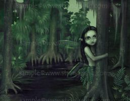 Swamp Spirit by jasminetoad