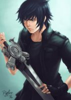 Noctis - FFXV by ryfee