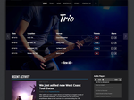 Trio - Band WordPress Theme by i337m1k3