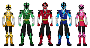 Power Rangers Samurai Strike by heavenlymythicranger