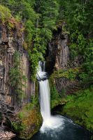 Toketee Falls by greglief
