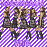 Miley Cyrus pack by EmmaBieber